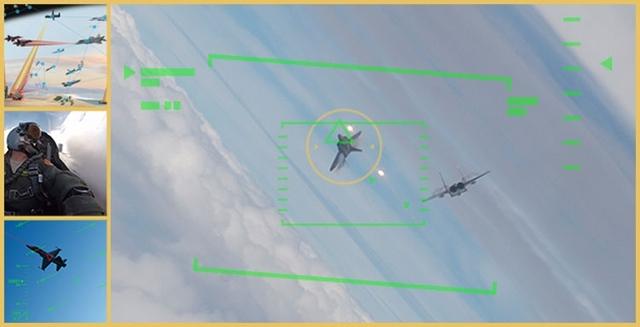 На американских истребителях ближним боем будет управлять ИИ