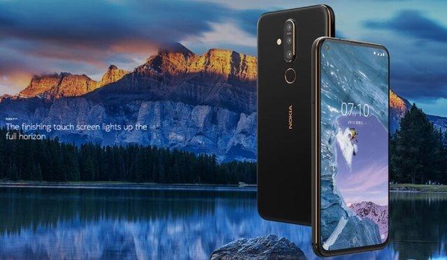 Представлен Nokia X71 с тройной камерой и отверстием в экране