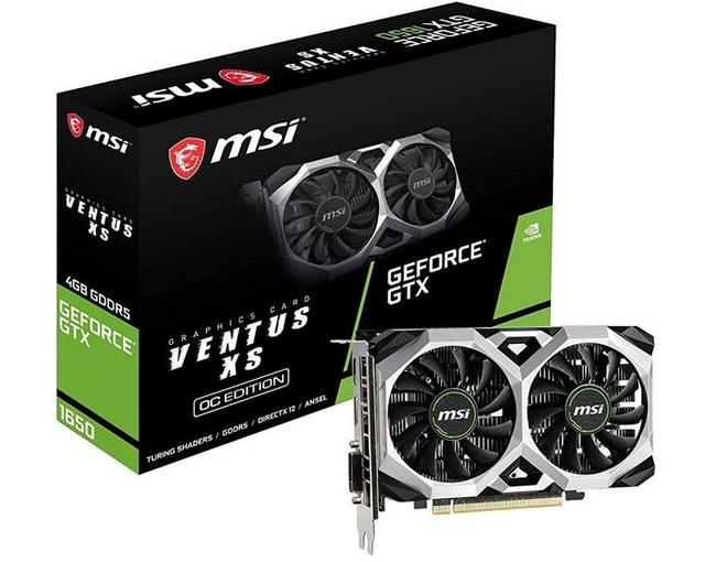 Цена MSI GeForce GTX 1650 Ventus XS OC и Aero ITX OC приближается к 200 евро в Испании