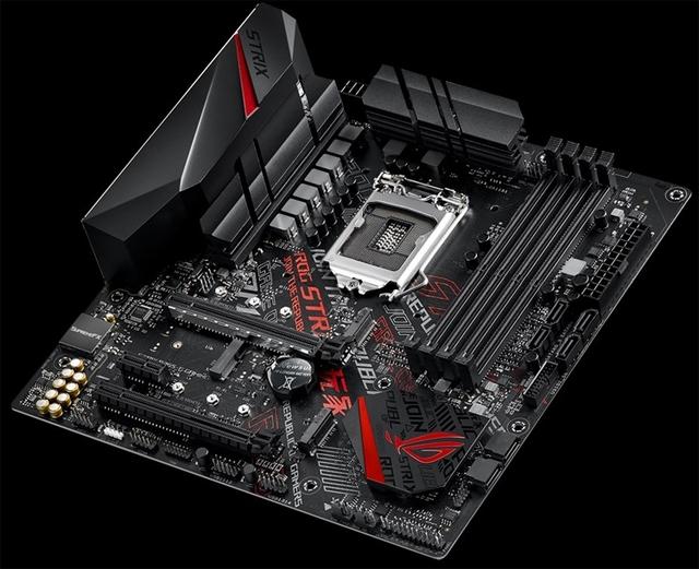 ASUS ROG Strix B365-G Gaming: плата для компактного ПК на чипе Core девятого поколения