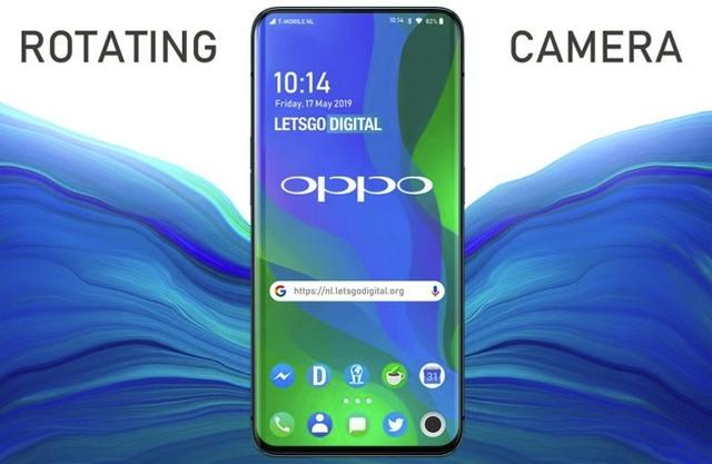 OPPO предложила странную подъёмно-поворотную камеру для смартфонов
